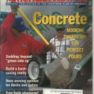 American How-To magazine- July/ August 1995- Concrete
