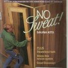 American How-To magazine- November / December 1994- Sauna Kits