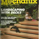 Home Mechanix magazine- Managing your Home- July 1989- Landscaping with decks