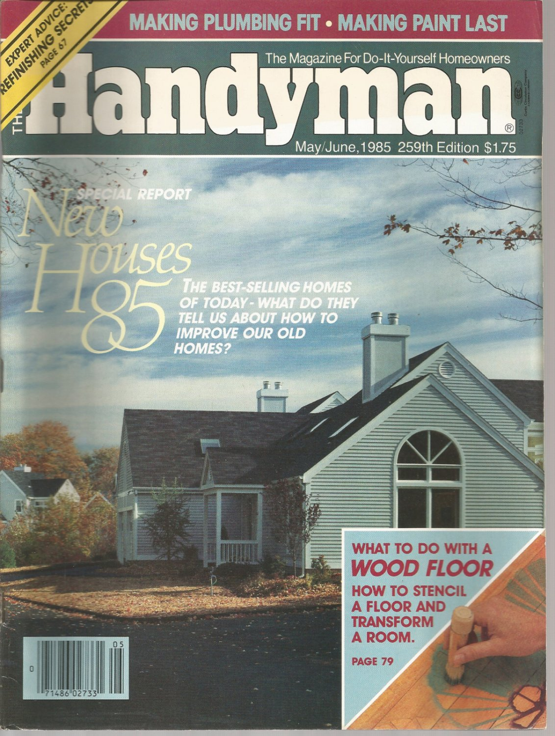 The Family Handyman- May/June 1985- how to install patio doors