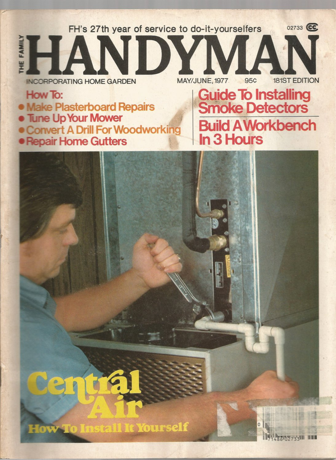 The Family Handyman-   May/ June 1977- how to tune up your mower
