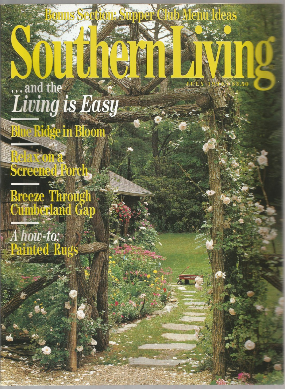 Southern Living magazine- July 1993- Blue Ridge in Bloom