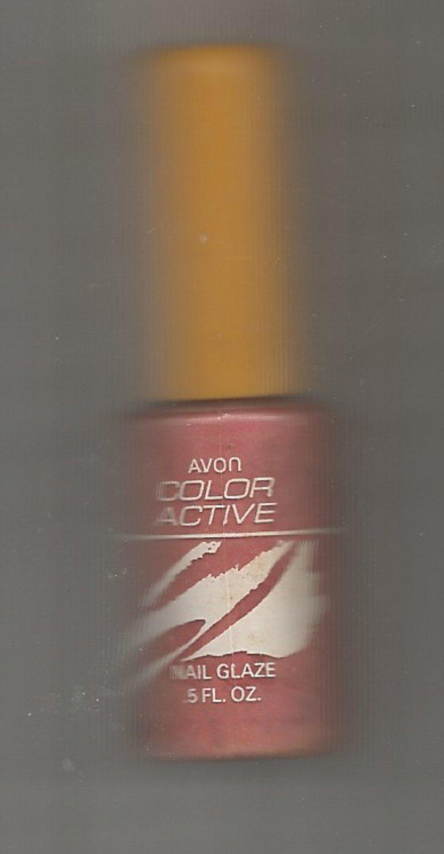 Avon  Color Active Nail Glaze- Melon Splash (#3)   - Vintage