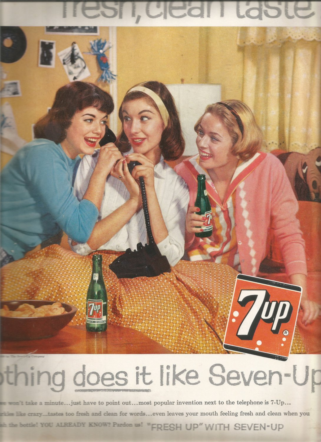 April 28, 1959 Nothing does it like Seven- UP   magazine    ad  (#2210)