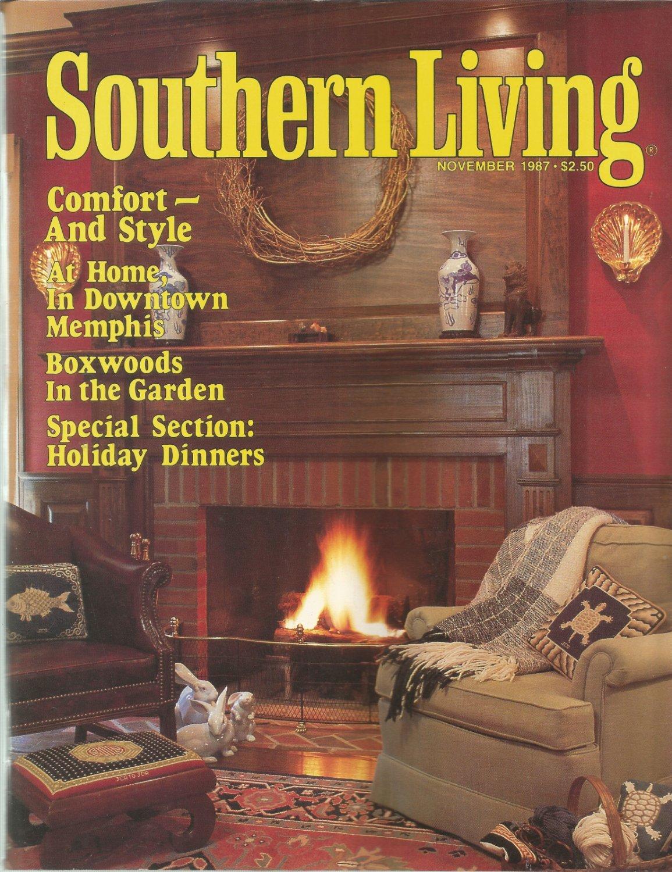 Southern Living magazine-  November 1987- Boxwoods in the garden