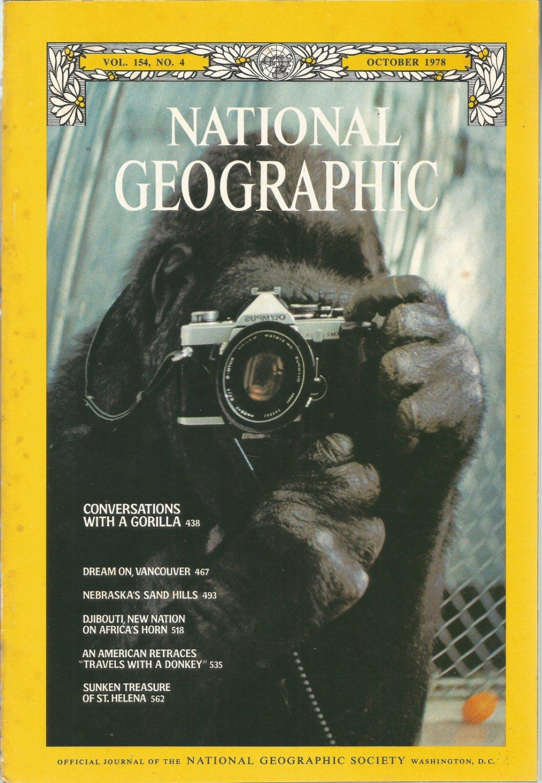 National Geographic- October 1978- Sunken treasure of St. Helena