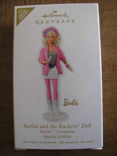 New 2010 Barbie and the Rockers Doll Hallmark Keepsake Ornament Limited