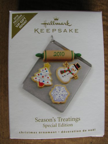 New 2010 Seasons Treatings Hallmark Keepsake Christmas Ornament
