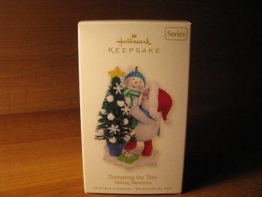 2008 Making Memories #1 Trimming the Tree Hallmark Keepsake Christmas Ornament
