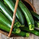 Dark Green Zucchini Squash 25 Seeds