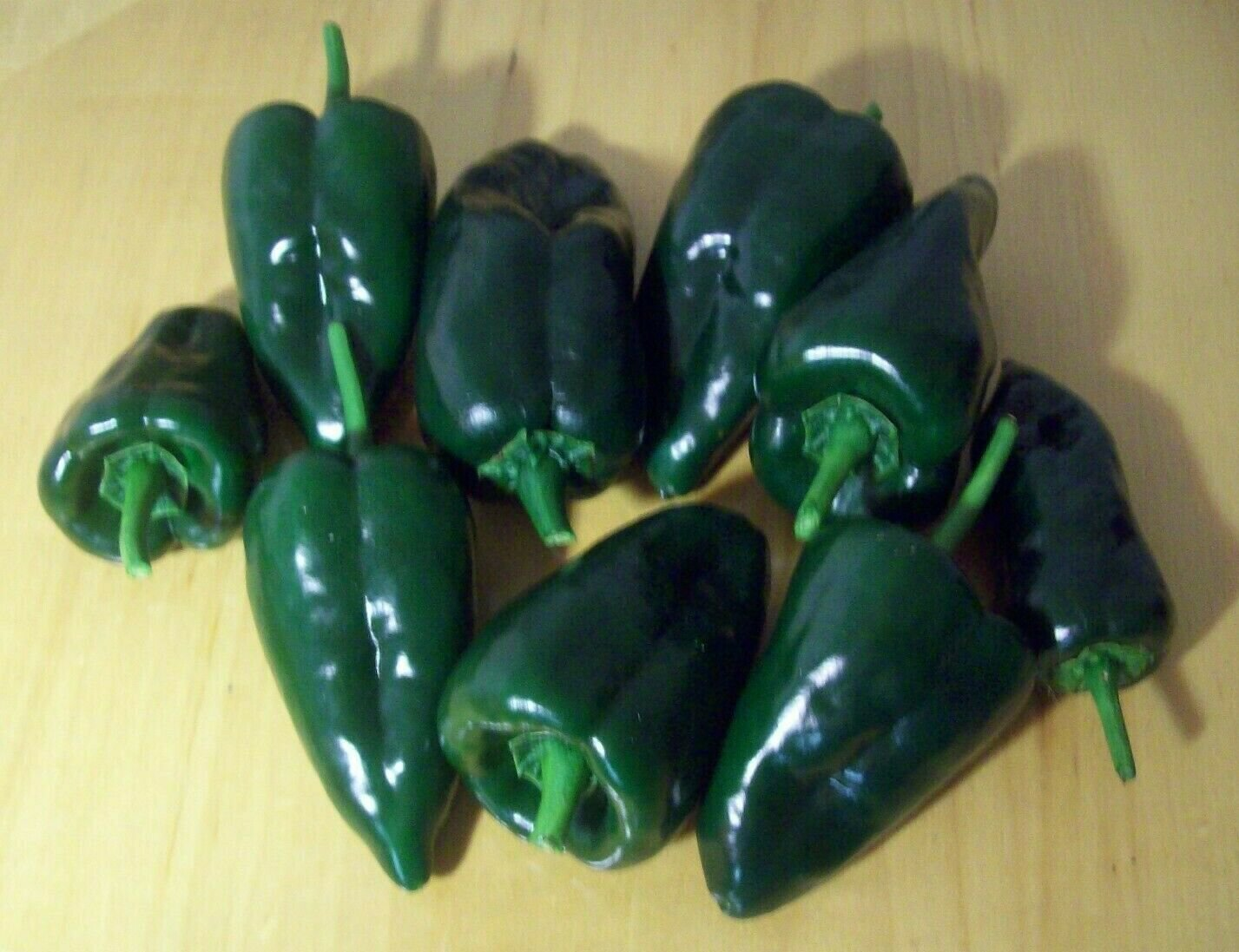 ANCHO POBLANO PEPPER 30 SEEDS