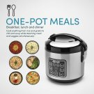 Aroma 8C Digital Cool-Touch Rice Cooker and Food Steamer