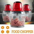 2.0L Electric Food Processor Blender Mixer Chopper Meat Grinder Vegetable Salad