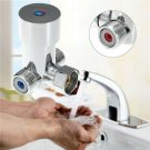 Auto Faucet Hot Cold Water Mixing Valve Thermostatic Mixer Temperature Control