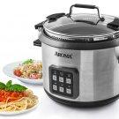 Aroma 6 QT. Digital Pasta Cooker & Rice Cooker Model AMC-200D