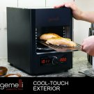 Gemelli Gourmet Steak Grille (1600 Watt), Infrared Superheating Up to 1560