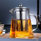 Stainless Steel Infuser Heated Container Tea Pot Good Clear Kettle Filter Basket