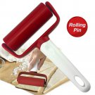 Rolling Pin With Handle Roller Tool For Baking Dough Pizza Cookies Cooking Tool