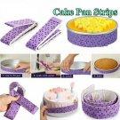 Cake Pan Strips Bake Even Strip Belt Bake Even Bake Moist Level Baking DIY Tool~