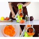 Vegetables Cutter Slicer Manual Food Chopper Machine +3 Blade Kitchen