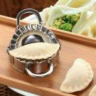 UK Stainless Steel Dumpling Maker Mould-Dough Presser Wraper Cutter Kitchen-Tool