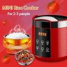 Portable 1.5L Smart Mini Electric Lunch Box Steamer Pot Rice Cooker Food Warmer