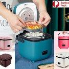 Electric Rice Cooker 1.2L Portable Mini Small Rice Cook 5Colours 3Cups 1-2Person