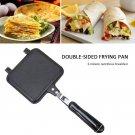 Flat Bottom Double-sided Frying Pan Bread Sandwich Toast Baking Pan Non-stick