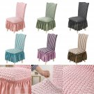 Dining Room Wedding Banquet Chair Cover Party Decor Stretch Seat Cover Slipcover