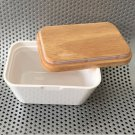 Butter Dish Cheese Storage Container with Lid Serving Dining Tableware 250ml