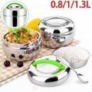 Stainless Steel Portable Thermal Insulated Lunch Box Bento Food Container·