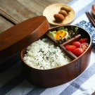 Lunch Box Wooden Japanese Bento Food Container Kids School Travel Picnic Gift
