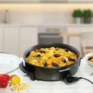 Daewoo 1500W Multi Cooker Hot Plate 40cm Healthy Non Stick Low Fat Fry Boil Pan