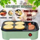 700W Electric Food Maker Non Stick Baking Pancake Pan Frying Griddle Machine Kit
