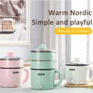 Electric Cooker Multifunctional Non-Stick Pan Hot Pot Mini Rice Cooker Steamer