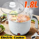 1.8L Electric Multi-functional Mini Rice Cooker Hot Pot Slow Cooker Boiler Home