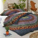 Duvet Cover with Pillowcase Quilt Cover Mandala Indian Bedding Set King Size