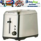 Russell Hobbs 2 Slice Toaster Stainless Steel with Bread & Crumb Tray Electric