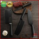 Stainless Steel Asian Chef Knife Kitchen Utility Santoku Cleaver Chopping Meat