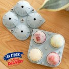 Ball Maker Big Silicone Mold Sphere Large Ice Cube Tray