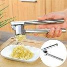Garlic Press Ginger Presser Crusher Chopper Peeler Cutter Mincer Stainless Steel