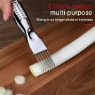 Shred Silk The Knife Vegetable Scallions Cutter Food Kitchen Speedy Chopper