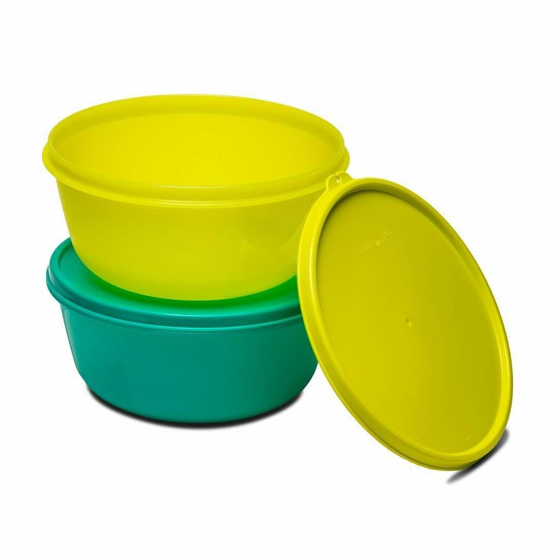Tupperware Tupin SS Modular Medium Bowl 1.5 L Multicolour Airtight free shipping