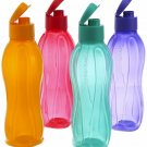 Original Tupperware Aquasafe Eco Flip top Bottle Spill-Proof lightweight AllSize