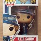 Funko Pop Wonder Woman Etta Candy + Free Protector