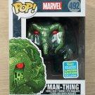 Funko Pop Marvel Man-Thing SDCC (Box Damage) + Free Protector