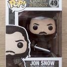 Funko Pop Game Of Thrones Jon Snow King Of The North + Free Protector