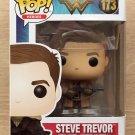 Funko Pop Wonder Woman Steve Trevor + Free Protector