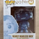 Funko Pop Harry Potter Nearly Headless Nick + Free Protector