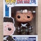 Funko Pop Marvel Capt America Civil War Crossbones Unmasked + Free Protector